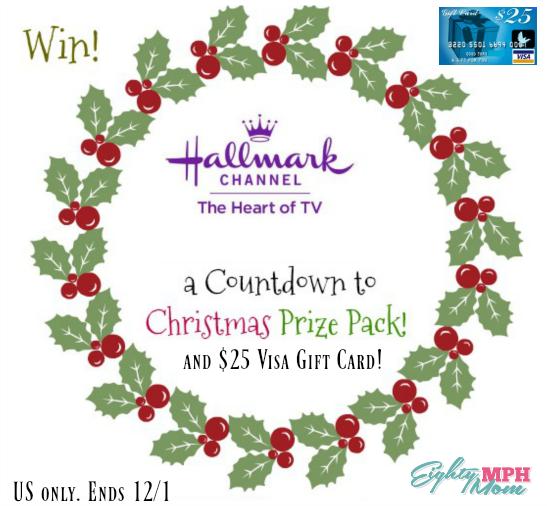 hallmark countdown to christmas giveaway