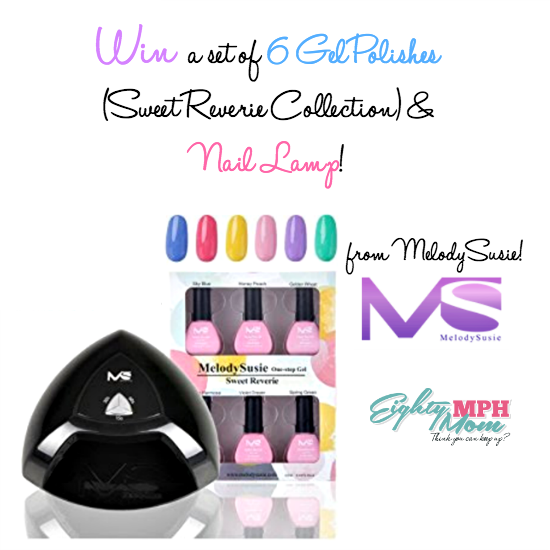 melody susie LED Nail lamp giveaway