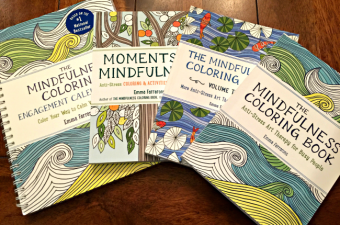 Color Your Weeks with The Mindfulness Coloring Engagement Calendar 2017!