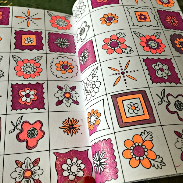 Relaxing coloring books for adults
