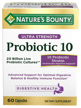 nature's bounty probiotic 10