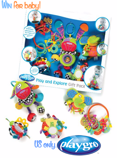 playgro play and explore gift pack giveaway