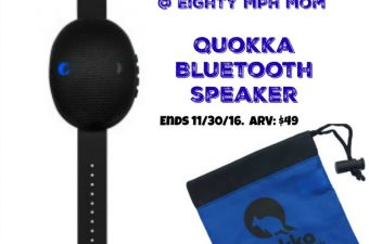 The Quokka Bluetooth Speaker is the Perfect Fitness Gift