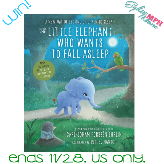 the little elephant who wants to fall asleep giveaway