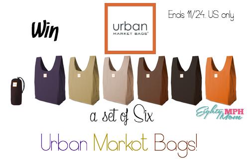urban market bags giveaway