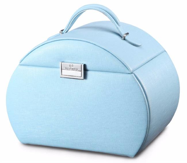 vlando blue princess jewelry box