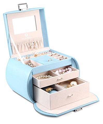 vlando jewelry box in blue