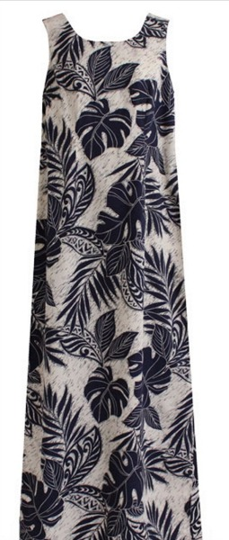 wave shoppe long tropical dress