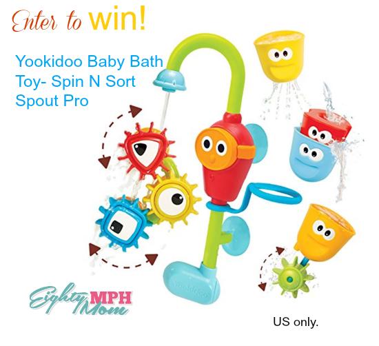 yookidoo baby bath toy giveaway
