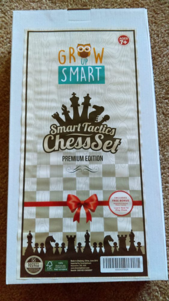 GrowUpSmart Chess Set