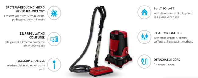 Quantum Vac Pro 6-in-1 Vacuum