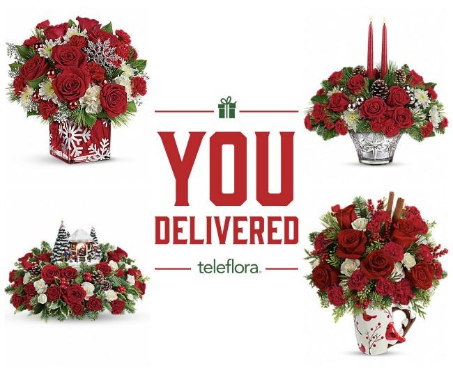 You, Delivered! Telefloral Collage