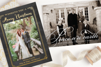 Holiday Card Countdown with Basic Invite
