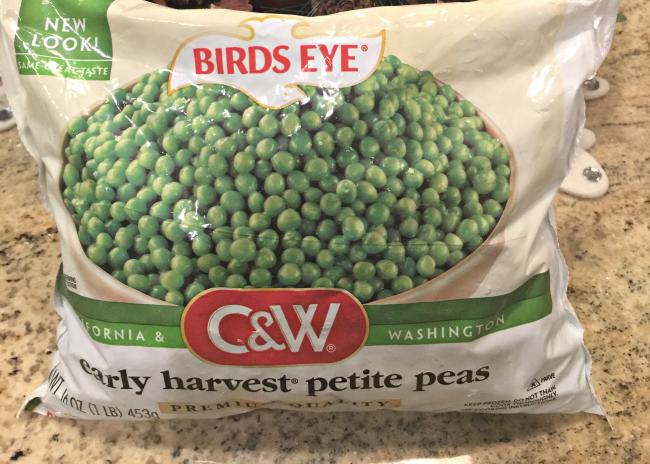 birds eye fresh vegetables early harvest petite peas