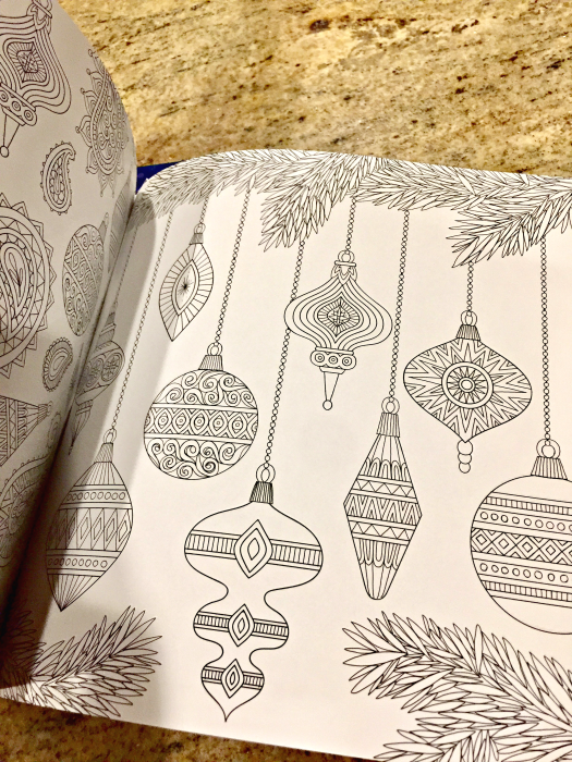 christmas ornaments coloring book