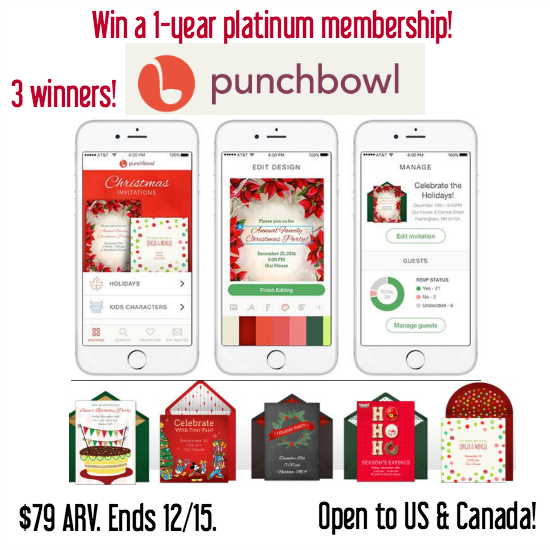 punchbowl giveaway