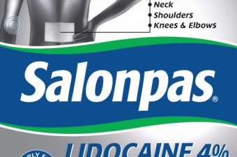 Salonpas Lidocaine Gel Patches (new and improved pain relief!)