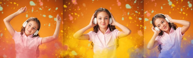 stories podcast headphones
