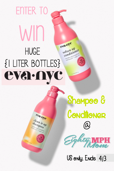 Eva NYC shampoo & conditioner giveaway