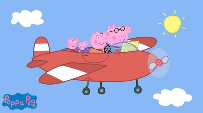 Peppa Pig Around the World with Peppa - Airplane