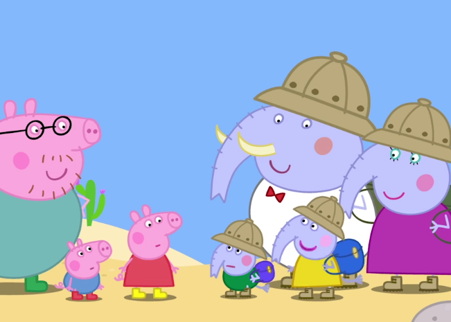 Peppa Pig Around the World with Peppa - Desert