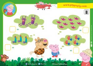 Peppa Pig Around the World with Peppa - Jungle Activity Sheet