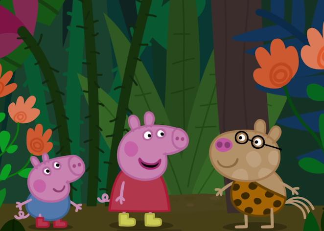 Peppa Pig Around the World with Peppa - Jungle
