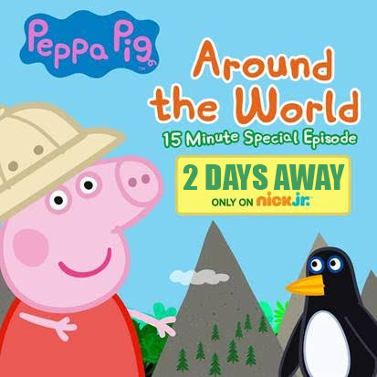 Peppa Pig Around the World with Peppa - Two Days Away
