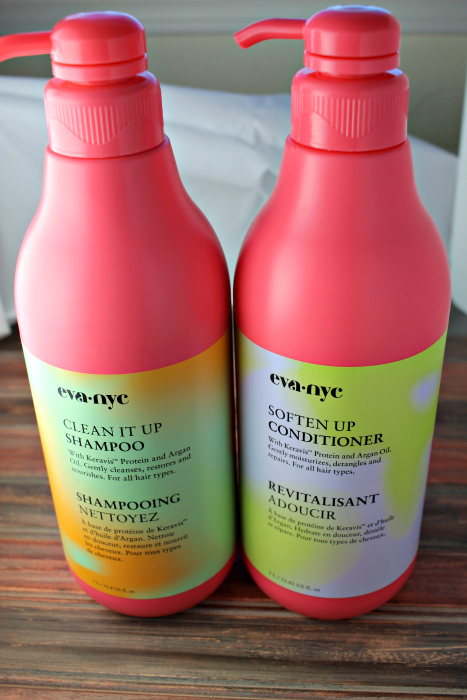 Eva NYC shampoo and conditioner at Costco