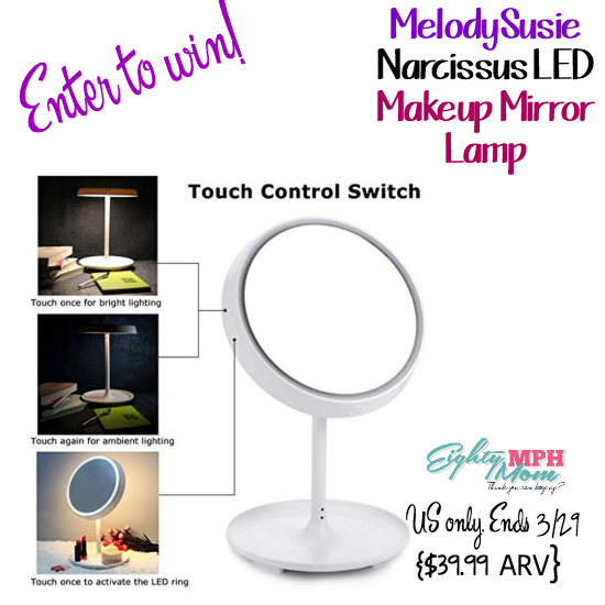 melody susie makeup mirror lamp giveaway