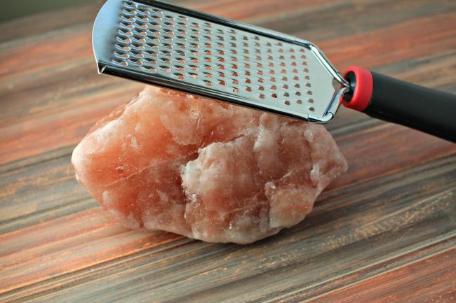 Saltopia infused sea salt - pink himalayan salt chunk