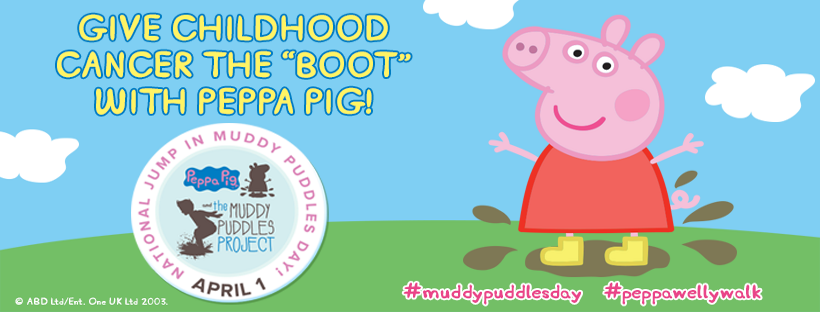 Peppa Pig Muddy Puddles Project