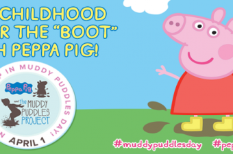Make a Splash with Peppa Pig and The Muddy Puddles Project
