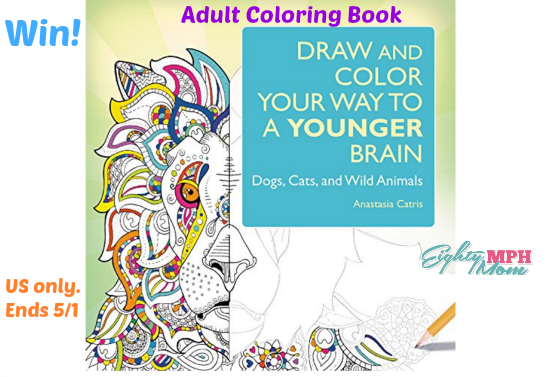 Draw and Color your way coloring book giveaway