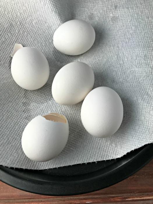 a tumble eggs