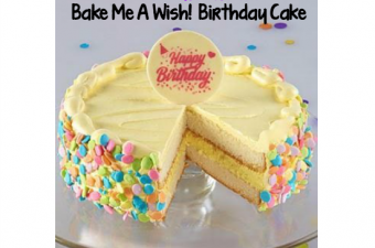 1-800-Baskets.com's Bake Me A Wish! Birthday Cake
