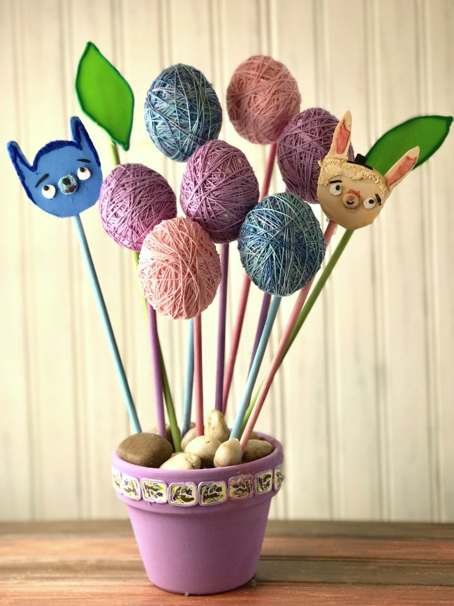 Tumble Leaf inspired Spring craft