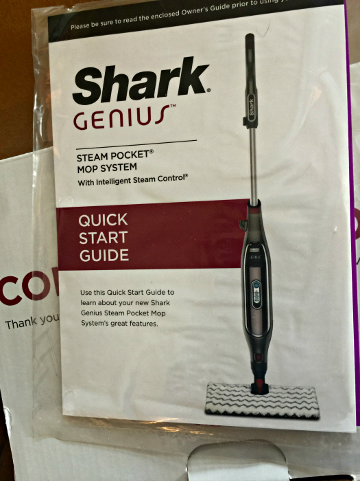 shark genius manual