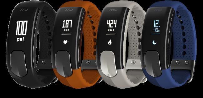 Mio SLICE Heart Rate + Activity Tracker