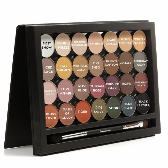 beauty junkees eye shadow colors