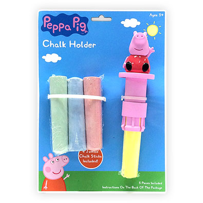 Peppa Pig Pamson Chalk Holder with Chalk Set