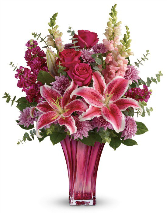 teleflora Mother's Day lilies