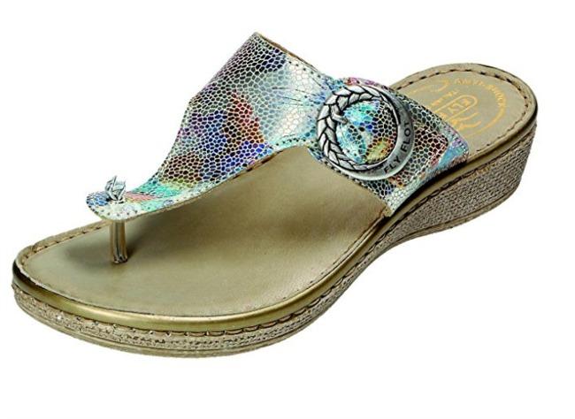 Fly Flot wedge heel sandal
