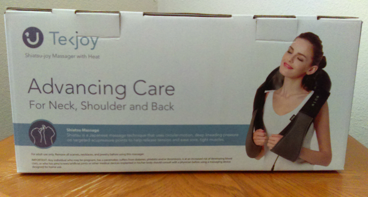 Tekjoy Deep Kneading Massager Review