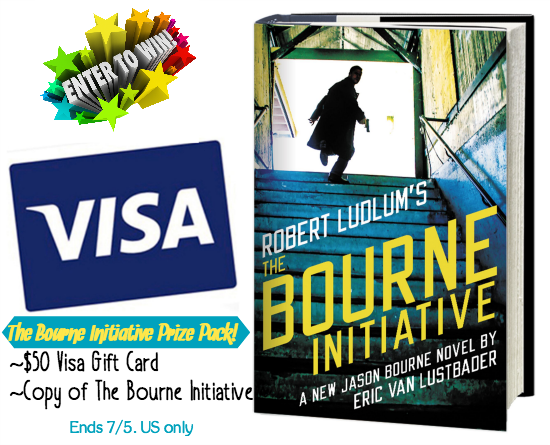 The Bourne Initiative giveaway