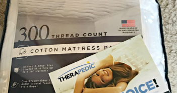 Therapedic 300 thread count mattress pad