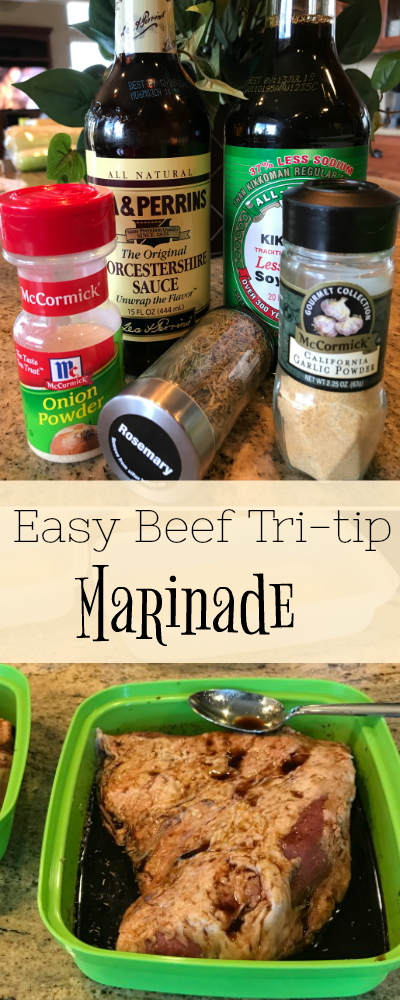 easy beef tri-tip marinade