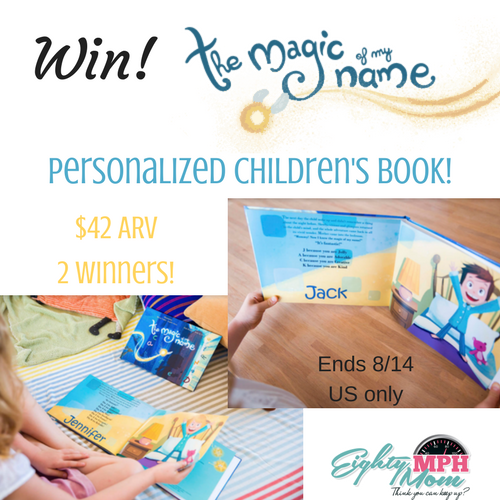 The Magic of My Name book giveaway