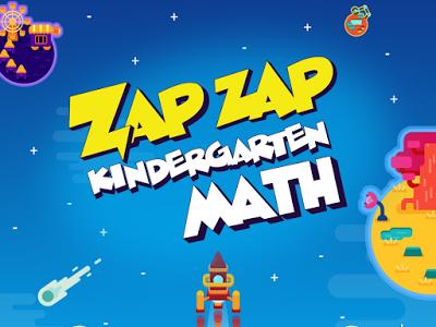 zap zap kindergarden math