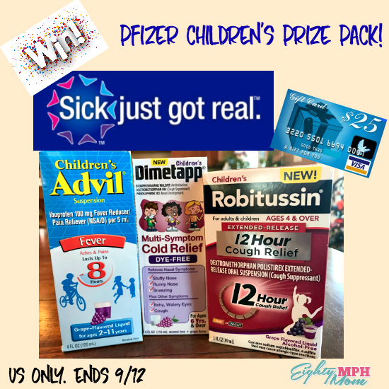 pfizer children's giveaway